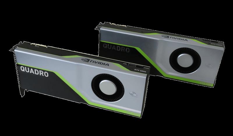 Nvidia Quadro RTX5000 GPU