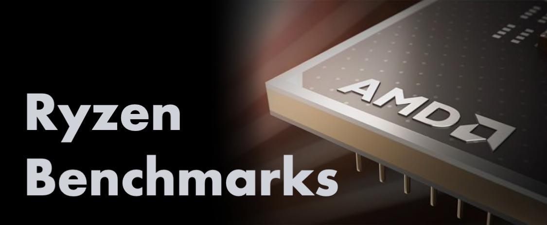 AMD Ryzen Benchmark Test Results