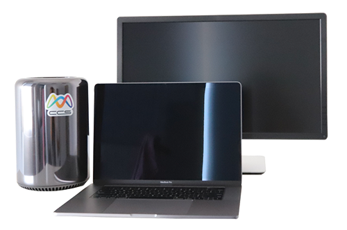 Apple Laptop Computer and 2013 Mac Pro